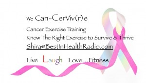 Breast Cancer Recovery with Cancer Exercise Specialist Shira Litwack